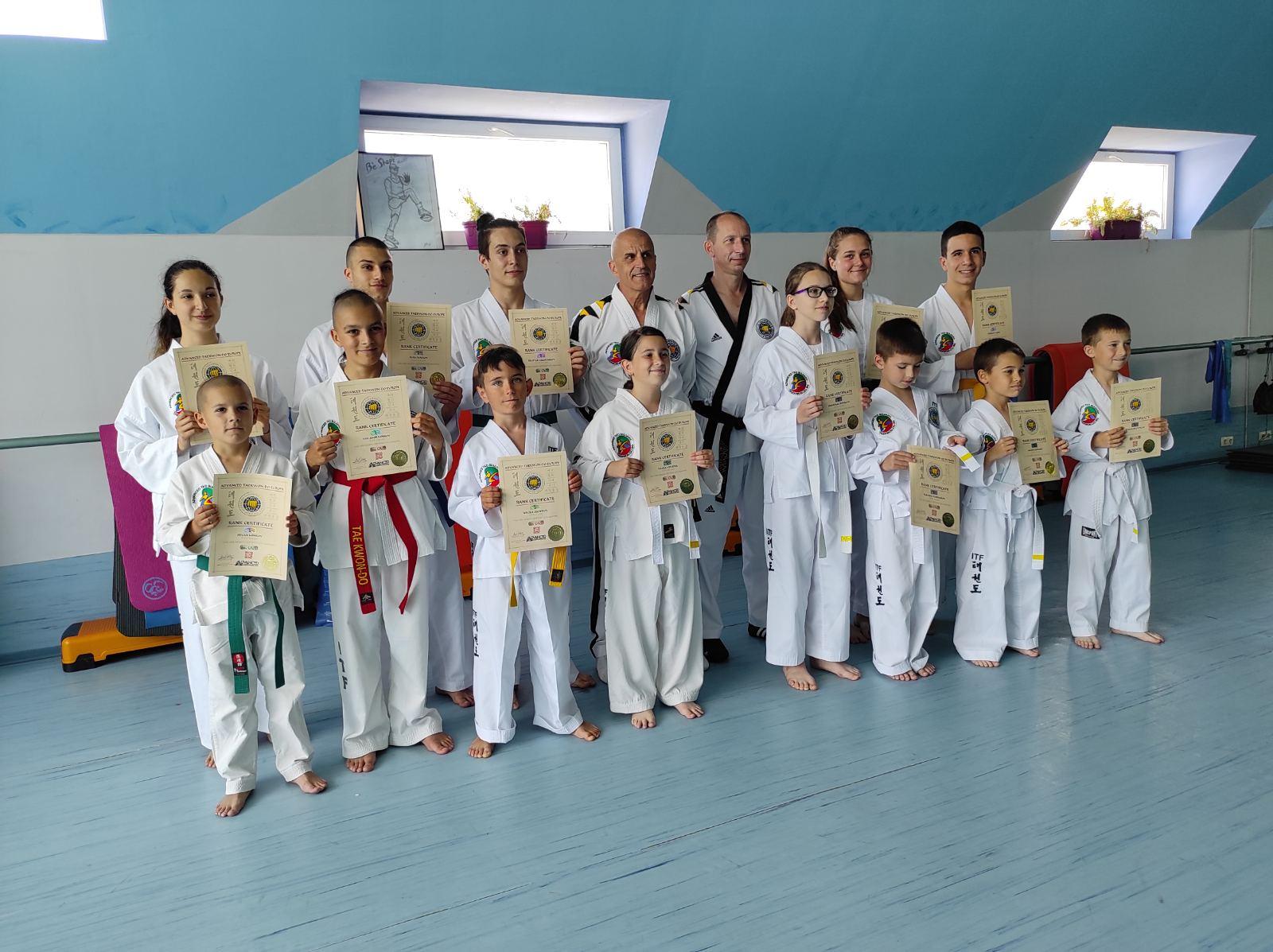 Летен изпит на Martial Arts Academy 2021