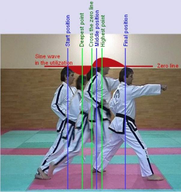 Начините за изпълнение на техники в Таекуон-до